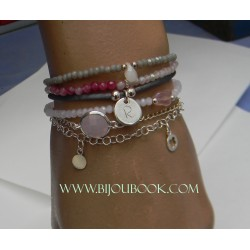 Pulsera ajustable cordon...